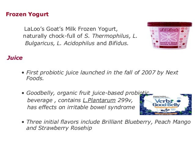 Frozen Yogurt LaLoo's Goat's Milk Frozen Yogurt, naturally chock-full of S. Thermophilus, L. Bulgaricus, L. Acidophilus an...