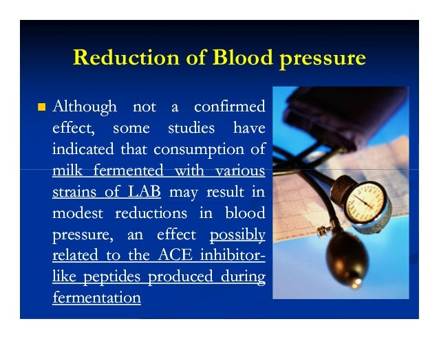 Reduction of Blood pressure  Although not a confirmedAlthough not a confirmed effect, some studies haveeffect, some stud...