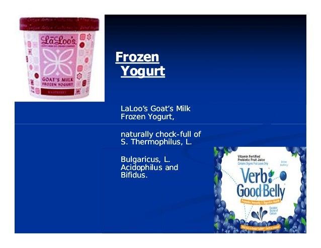 FrozenFrozen YogurtYogurt LaLoo's Goat's MilkLaLoo's Goat's Milk Frozen Yogurt,Frozen Yogurt, naturally chocknaturally cho...