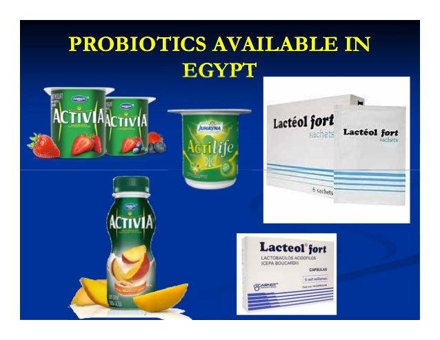 PROBIOTICS AVAILABLE INPROBIOTICS AVAILABLE IN EGYPTEGYPT