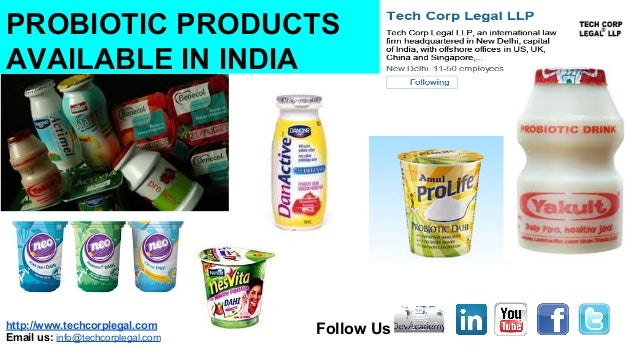 Probiotic Foods Available Indian Market Probiotics Patent tren...