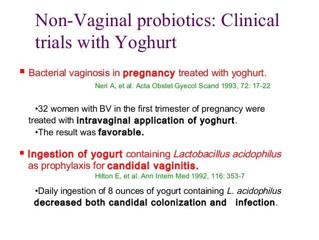 Probiotics in vaginal infections