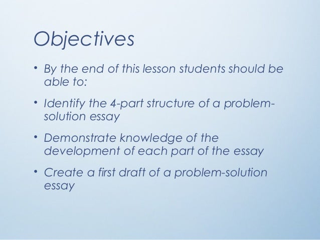 a problem-solution essay useful phrases Problem solution essay topics world history comparative essay tips useful phrases for comparative the importance of education can never be stressed.