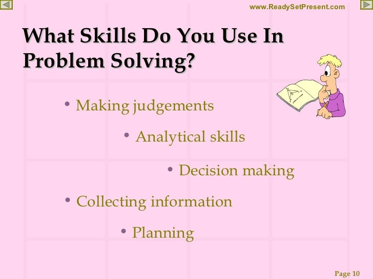 project problem solving and physical world Writing as an assessment tool, along with real-world projects  the importance of real-world problem solving has been increasingly recognized at the.