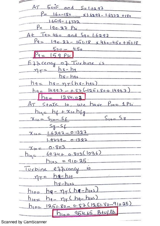 solution to problem 8 13 8 14 8 15 8 16 from power plant technology b rh slideshare net powerplant technology el-wakil solution manual free download power plant technology m.m. el-wakil solution manual pdf