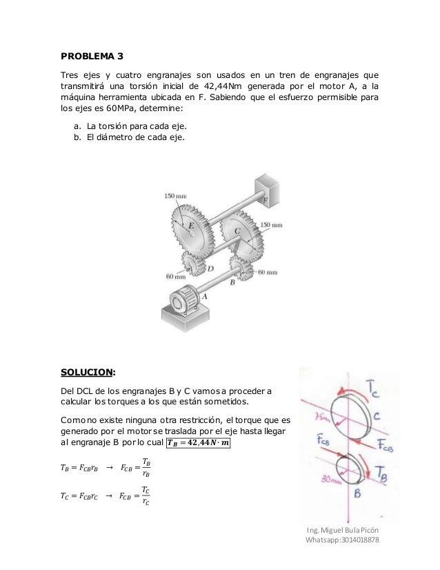 Relación de torque en engranajes