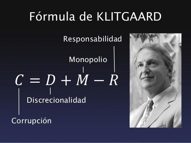 Resultado de imagem para Klitgaard formula