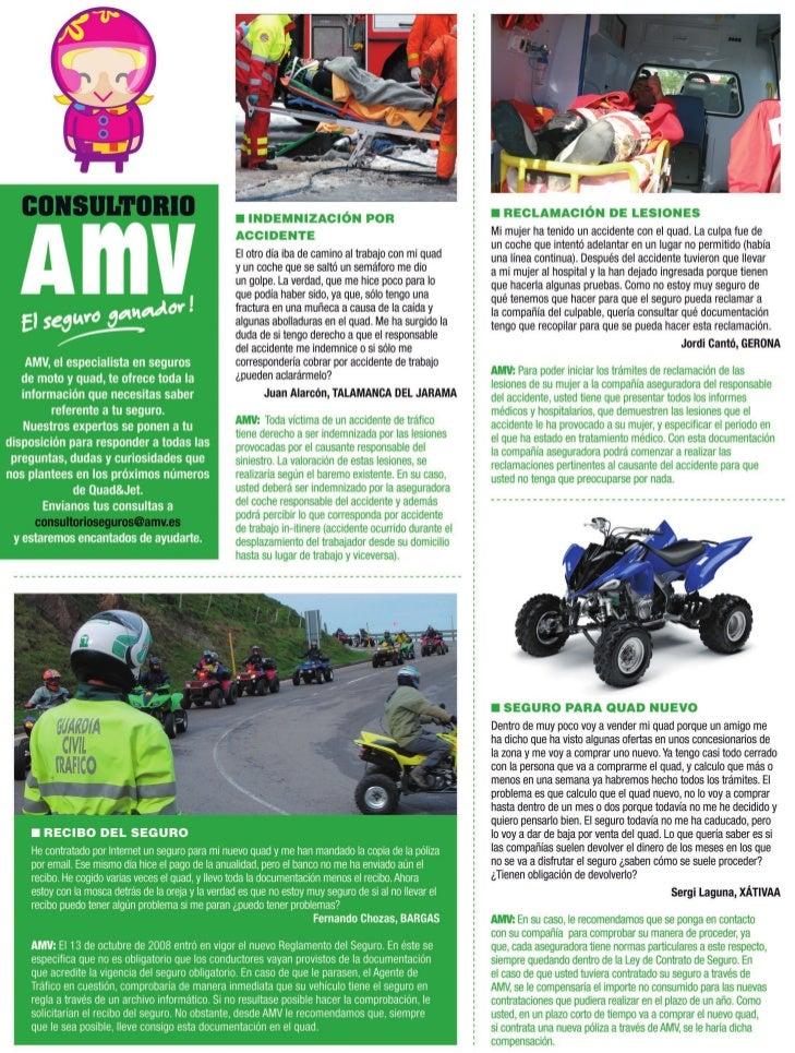 Problemas con los seguros, AMV responde junio -  julio 2011