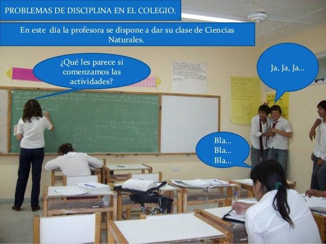Problemas De Disciplina En El Colegio Slide 2