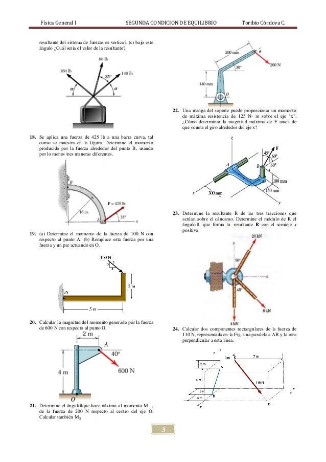 PROBLEMAS 2DA CONDICION DE EQUILIBRIO Slide 3