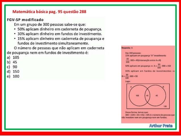 Problemas com conjuntos- matemática básica - capítulo 7 Slide 3