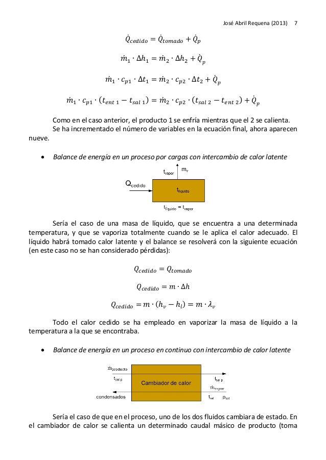 Problemas de balances de energia - Problemas de condensacion ...