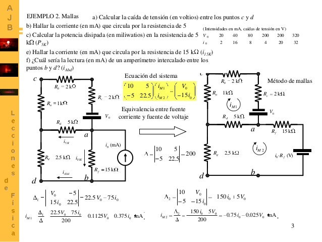 Problemas de circuitos ejemplos resueltos
