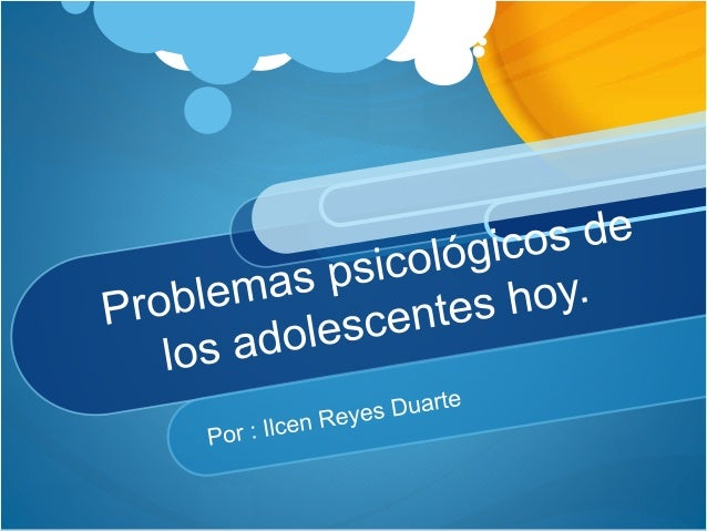 Problemas psicológicos de los adolescentes. La adolescencia es el periodo de la vida en el cual se presentan más cambios t...