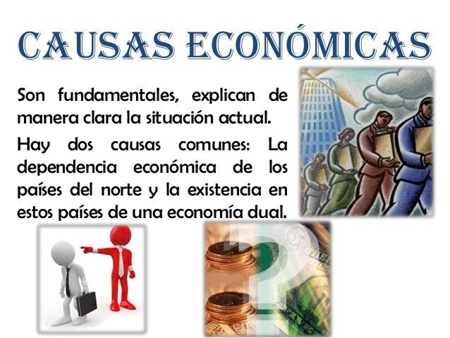 Mantenimiento de unaestructura económica dualEn estos países se mantienen dos estructuras económicas diferentes.• Sector p...
