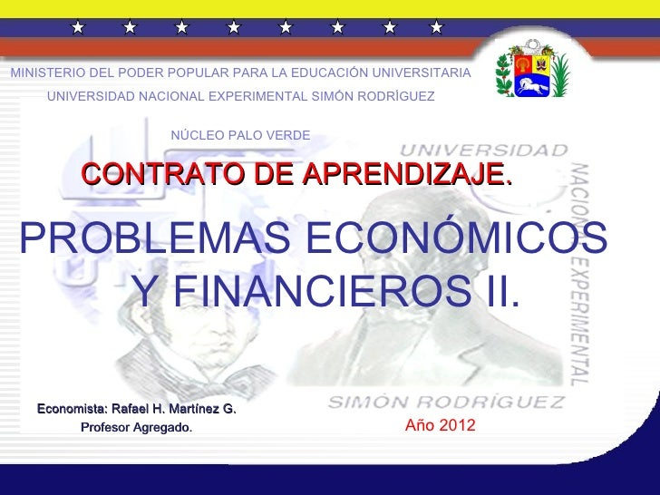 MINISTERIO DEL PODER POPULAR PARA LA EDUCACIÓN UNIVERSITARIA    UNIVERSIDAD NACIONAL EXPERIMENTAL SIMÓN RODRÍGUEZ         ...