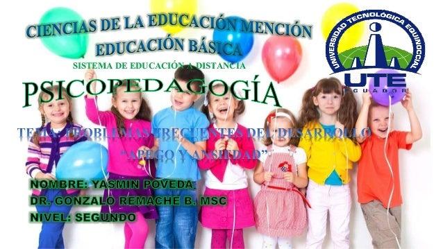 SISTEMA DE EDUCACIÓN A DISTANCIA