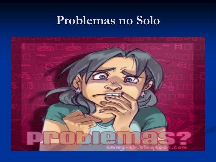 Problemas no Solo<br />