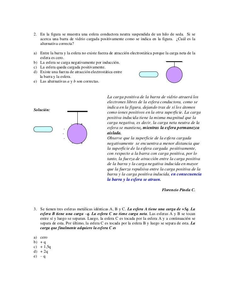 Problemas ElectrostáTica Nivel 0B Slide 2