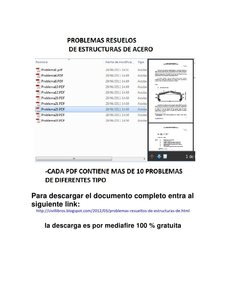 Para descargar el documento completo entra alsiguiente link: http://civillibros.blogspot.com/2012/03/problemas-resueltos-d...