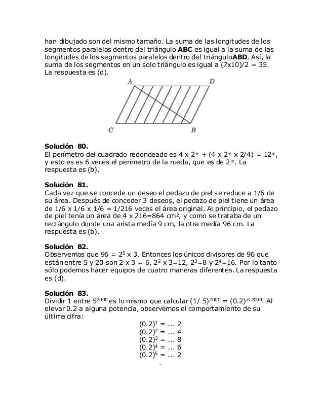 Problemas reto matemático