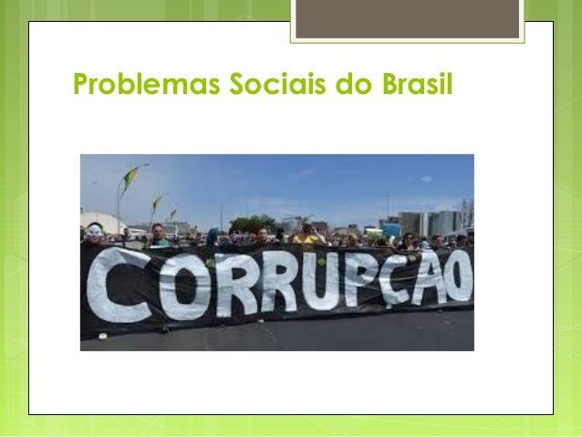 Problemas Sociais do Brasil