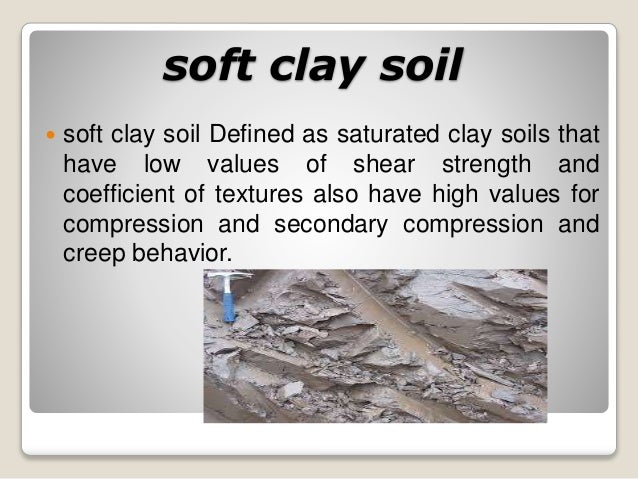 Problematic soil for What is meant by soil
