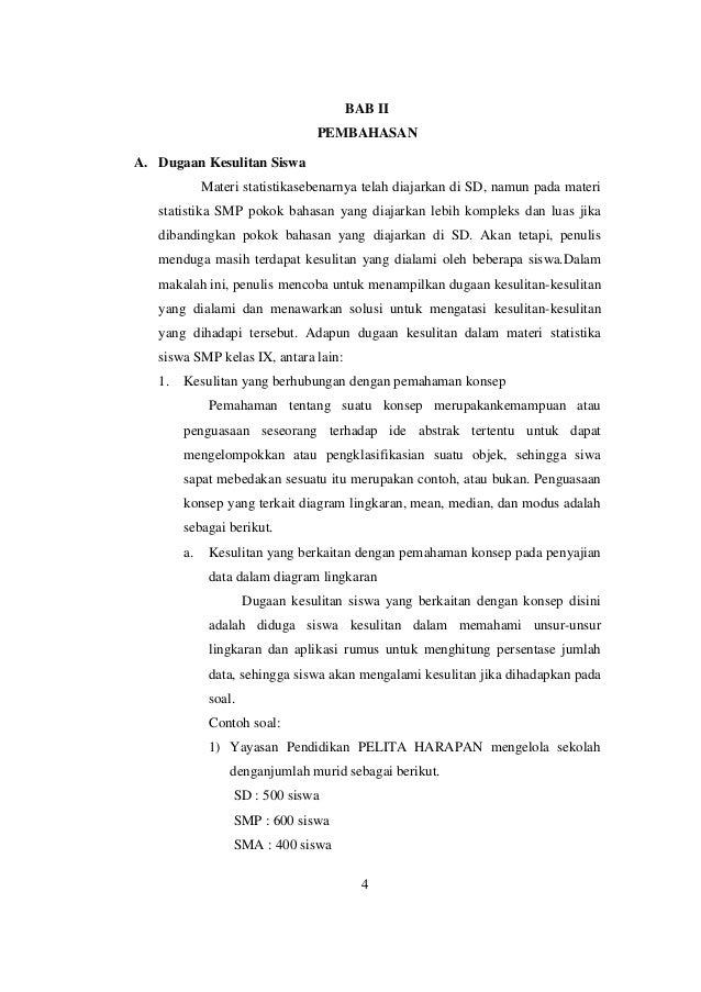 Problematika pembelajaran statistika siswa smp kelas ix 5 ccuart Image collections