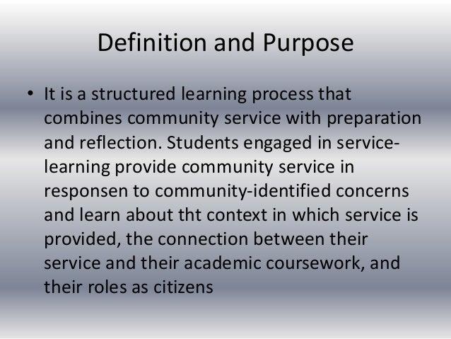 Definition of 'community spirit'