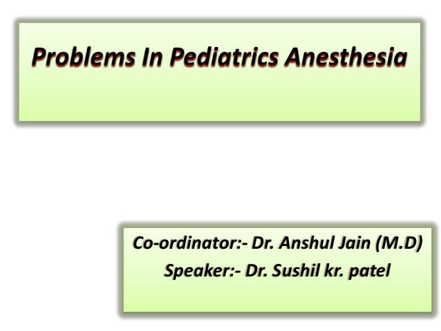 Co-ordinator:- Dr. Anshul Jain (M.D) Speaker:- Dr. Sushil kr. patel