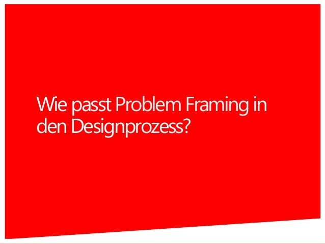 WiepasstProblemFramingin denDesignprozess? 20