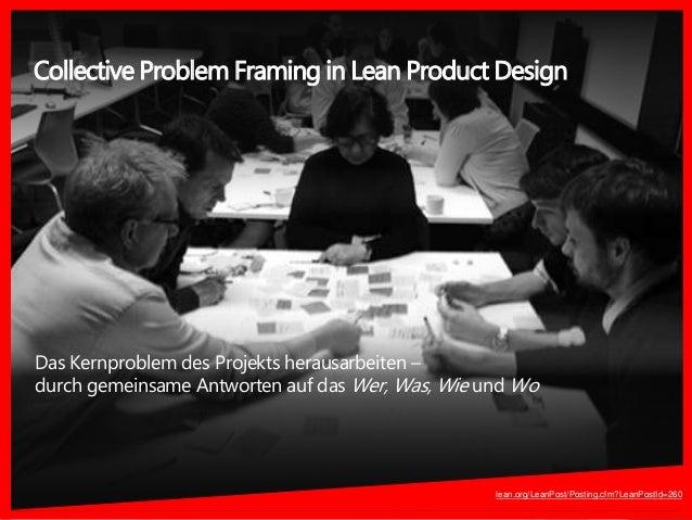 Das Kernproblem des Projekts herausarbeiten – durch gemeinsame Antworten auf das Wer, Was, Wie und Wo Collective Problem F...