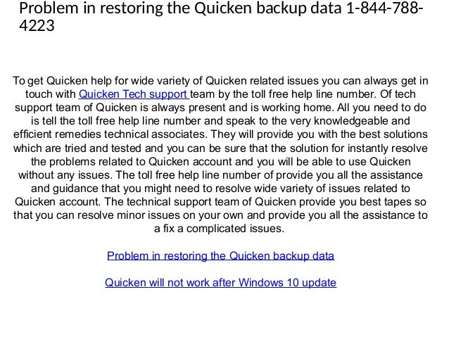 quicken 2016 install issues