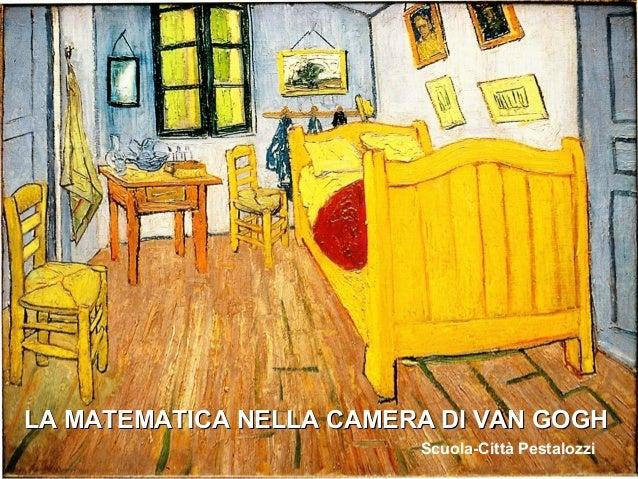 Matematica nella camera di Van Gogh: prospettiva e realtà