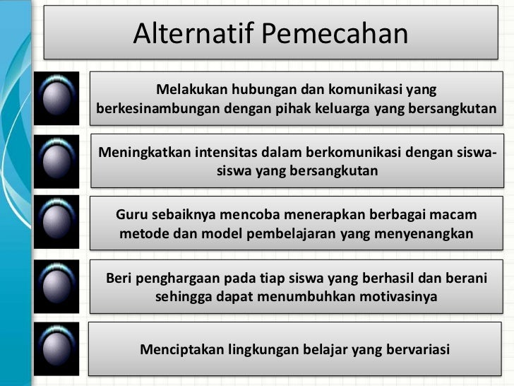 Alternatif Pemecahan    Memberitahu adanya kurikulum untuk mapel PJKGuru sebaiknya mempersiapkan diri sebelum mengajarkan ...
