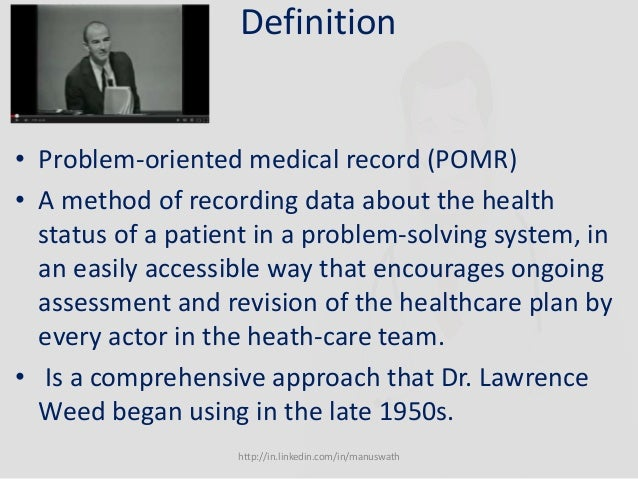 Advantages And Disadvantages Of Problem Oriented Medical