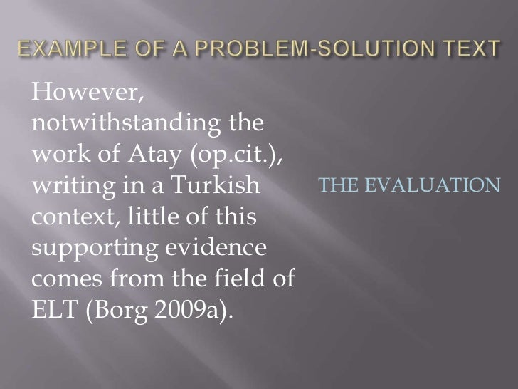 However,notwithstanding thework of Atay (op.cit.),writing in a Turkish      THE EVALUATIONcontext, little of thissupportin...