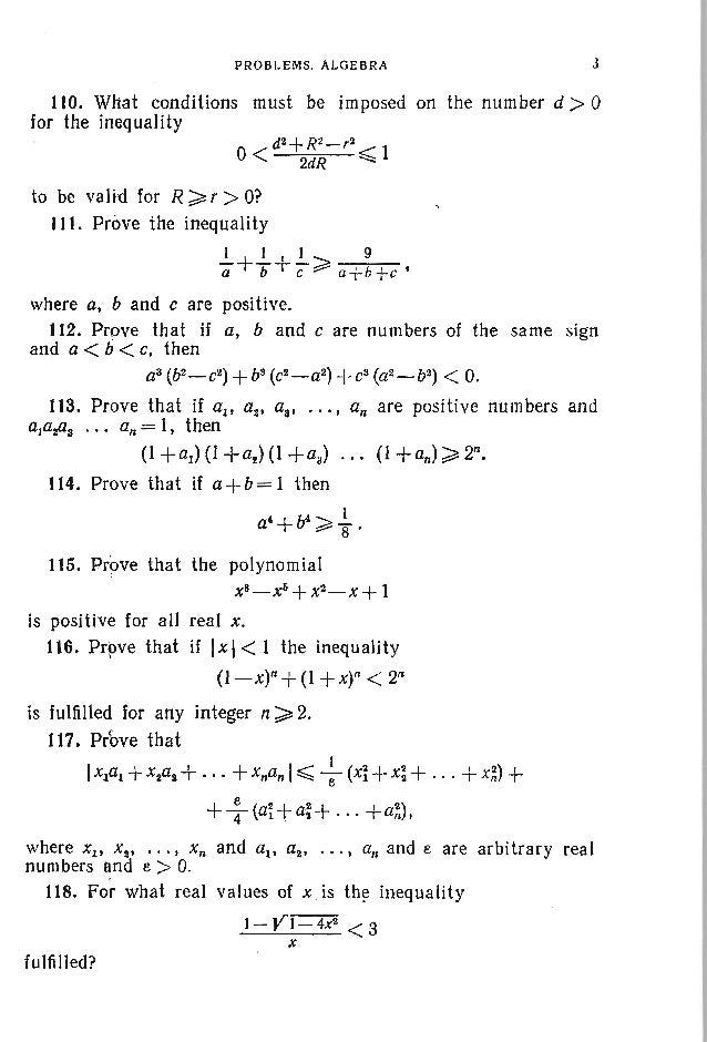 26 PROBLEMS IN ELEMENTARY MATHEMATICS 133. Solve the equation log (p-x) . 2-logp-q 4 1+ Jog: (x+q) = logp_q (x+q) (p ;» q ...