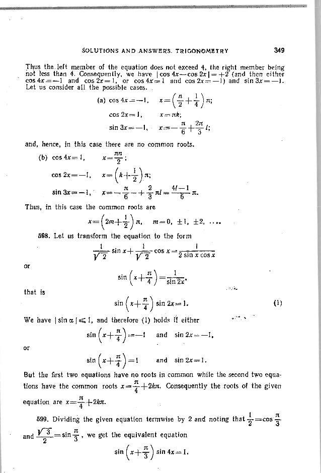 Problems in elementary mathematics
