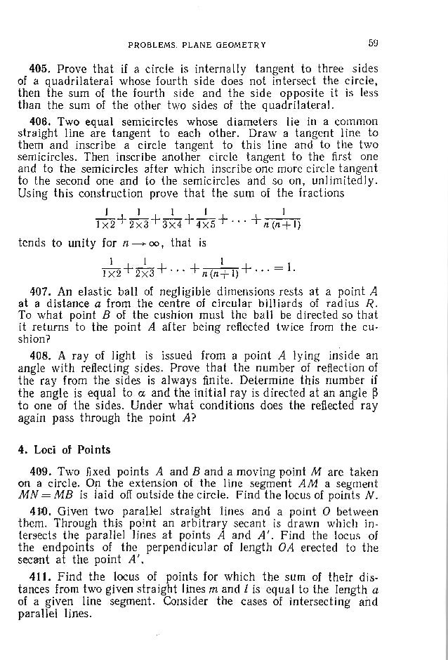 62 PROBLEMS IN ELEMENTARY MATHEMATICS B. SOLID GEOMETRY Preliminaries Here is a number of formulas to be used for computin...