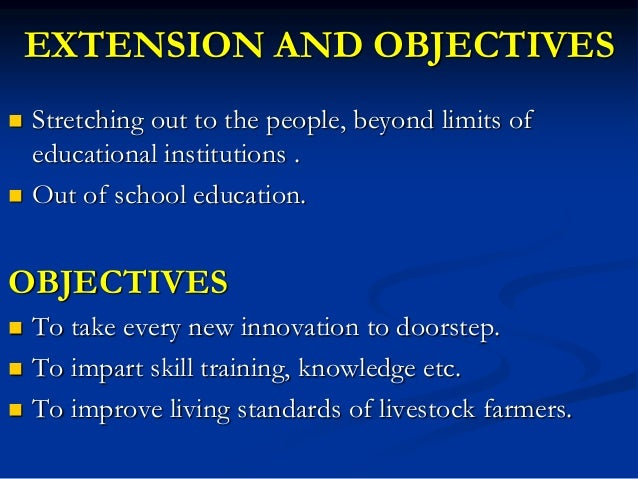 Problems and challenges of animal husbandry extension Slide 2