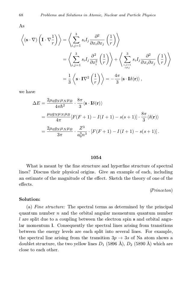 Quation and soultion manual for nuclear physics ebook nuclear physics array problems and solutions on atomic nuclear and particle physics kuo u2026 rh slideshare net fandeluxe Gallery