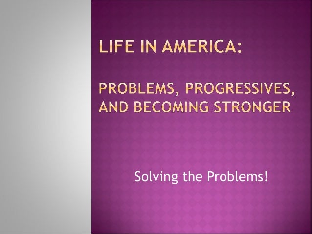 Solving the Problems!