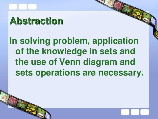 Problems Involving Sets