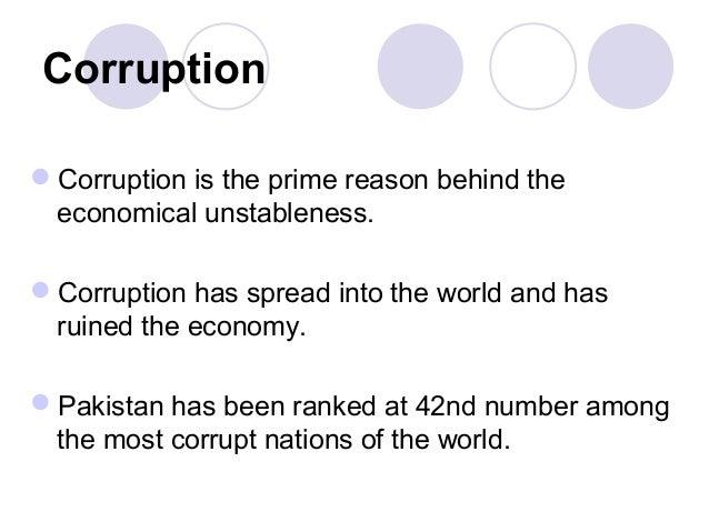 causes of corruption pdf