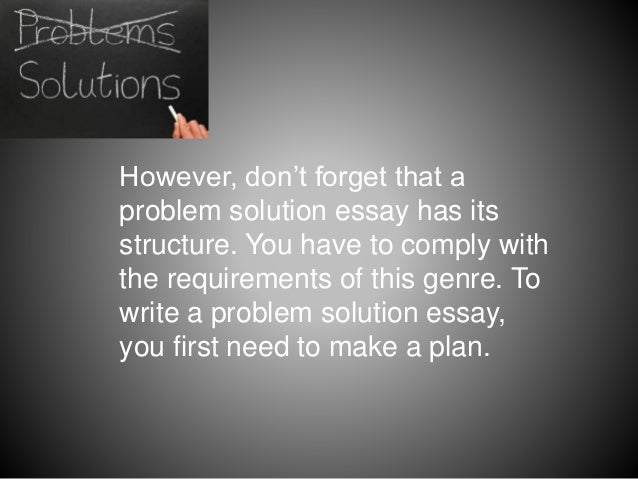 Problem solution essay genre top annotated bibliography writers website au