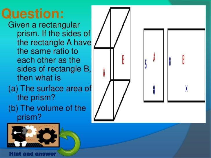 Problem solving 57 question given a rectangular prism ccuart Images