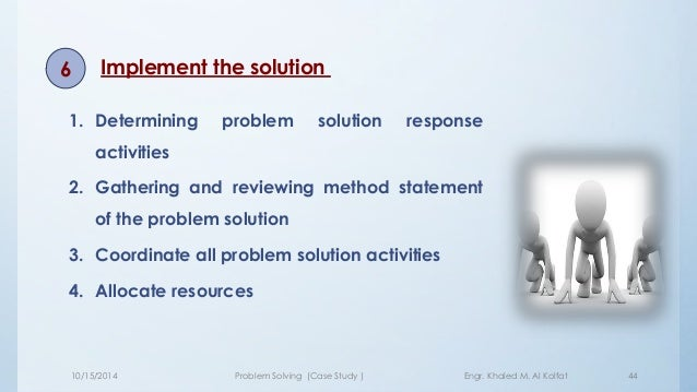 problem solving case studies with solutions Harvard & hbr business case study solution and analysis online - buy harvard case study solution and analysis done by mba writers for homework and assignments  every case study we independently and individually solve from scratch hire us for an a grade  case study help case study solution the case studies are stories which.