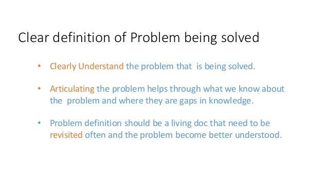 design problem statement