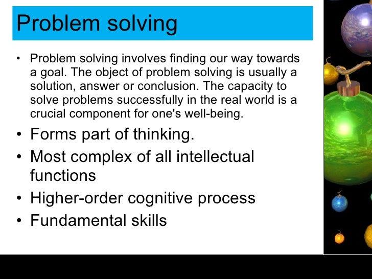 problem solving in management